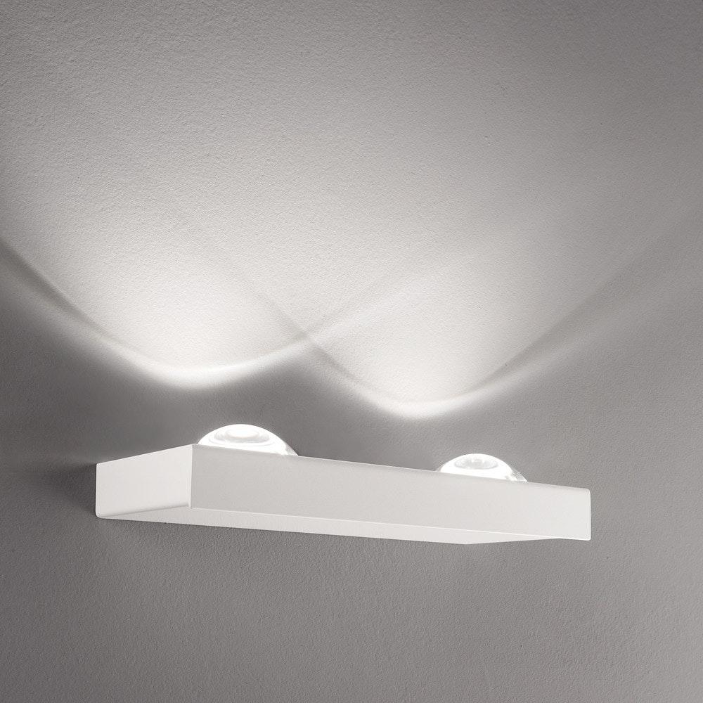 Studio Italia Design Shelf Double LED Wandleuchte 1