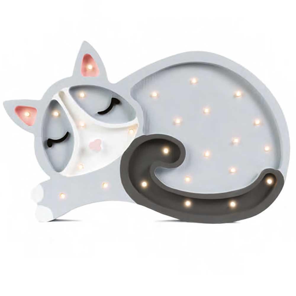 Little Lights Kinder Wand- & Tischleuchte Katze  3