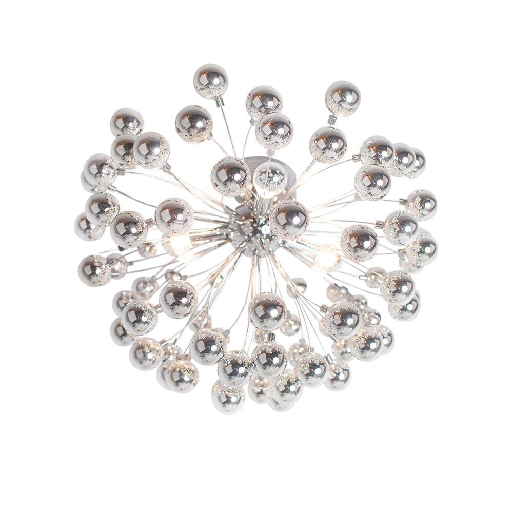By Rydens LED Deckenlampe Carroll Ø 58cm Chrom 2