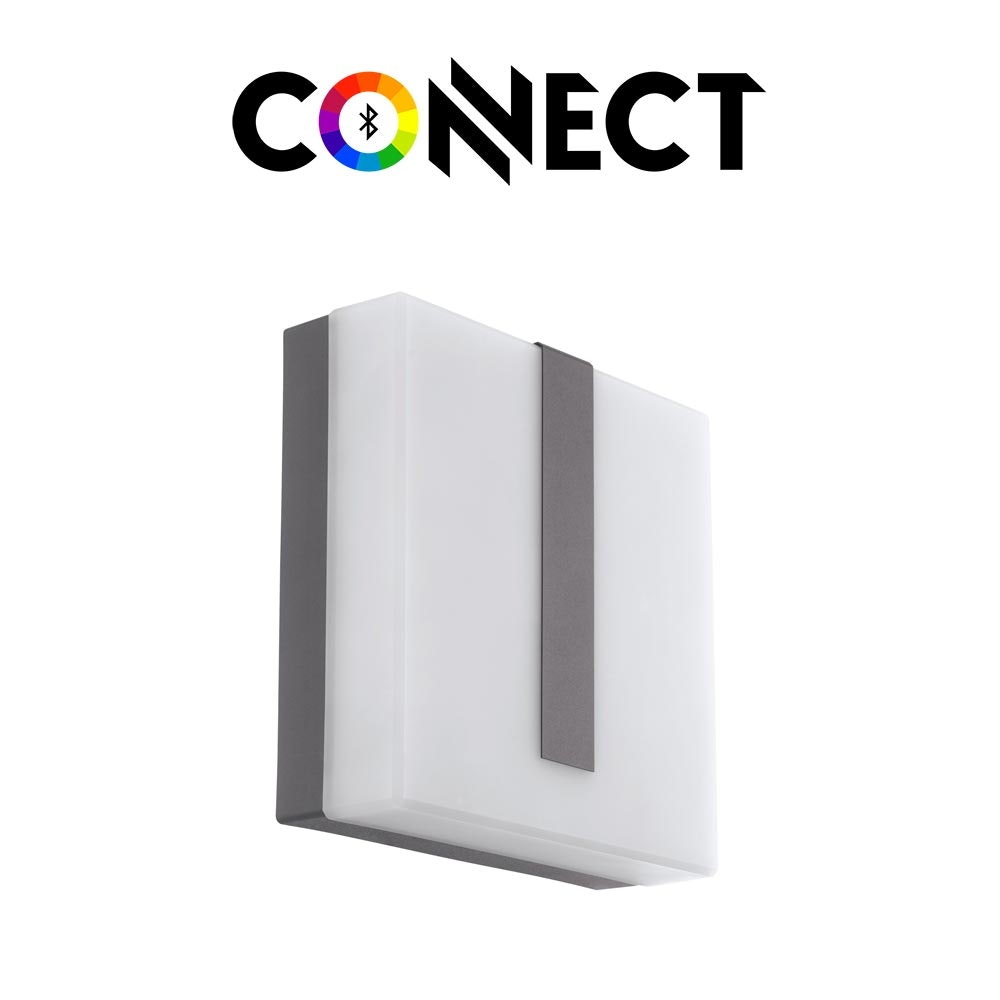 Connect LED Aussenwandlampe 1400lm IP44 Warmweiß 2