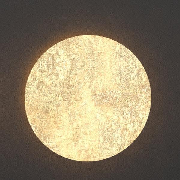 s.LUCE indirekte LED Wandleuchte Plate 17