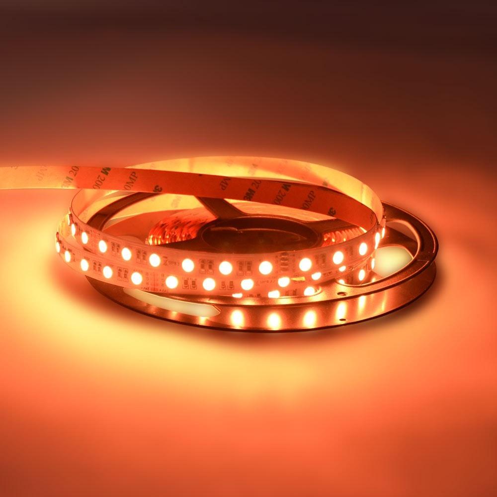 19,2 W/m RGBW Warmweiß 24V 5m LED-Strip IP20 11