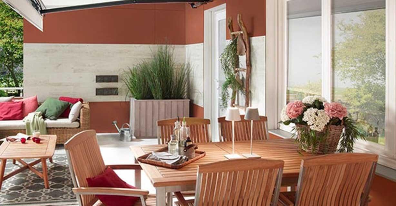 Qutarg Akkuleuchte Terrasse Gartentisch