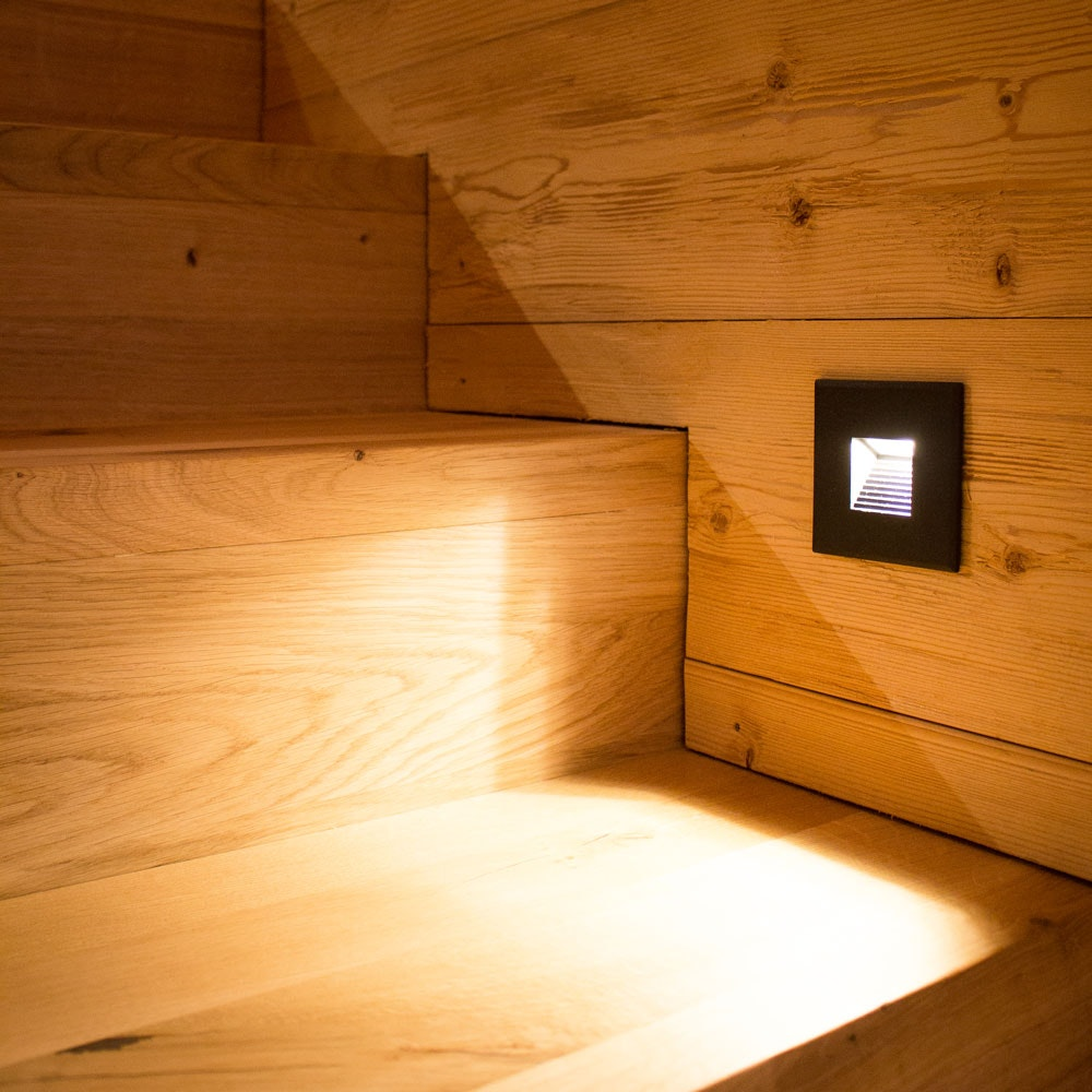 Abdeckung Sys-Wall 68 für LED-Wandeinbaustrahler Eckig 3 6