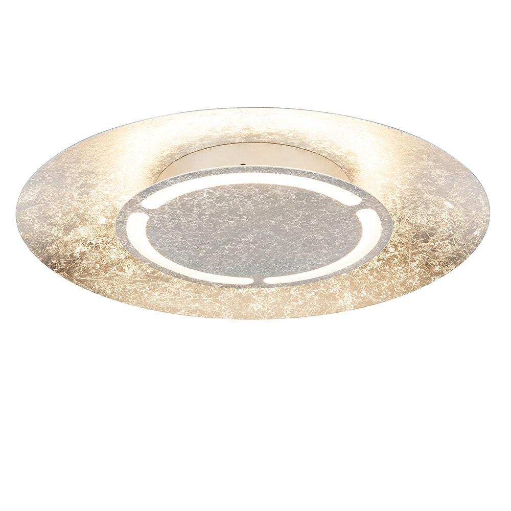 Licht-Trend LED Deckenleuchte Maraba Ø 50cm Silberfarben-Patiniert