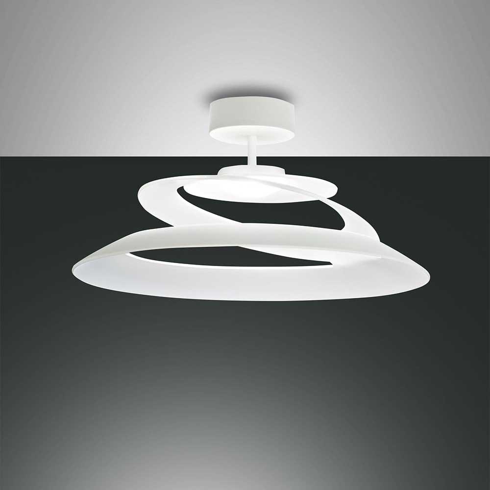 Fabas Luce klassische LED Deckenlampe Aragon Weiß 2