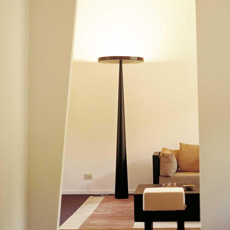 Prandina riesige Stehlampe Equilibre F3 Schwarz 2