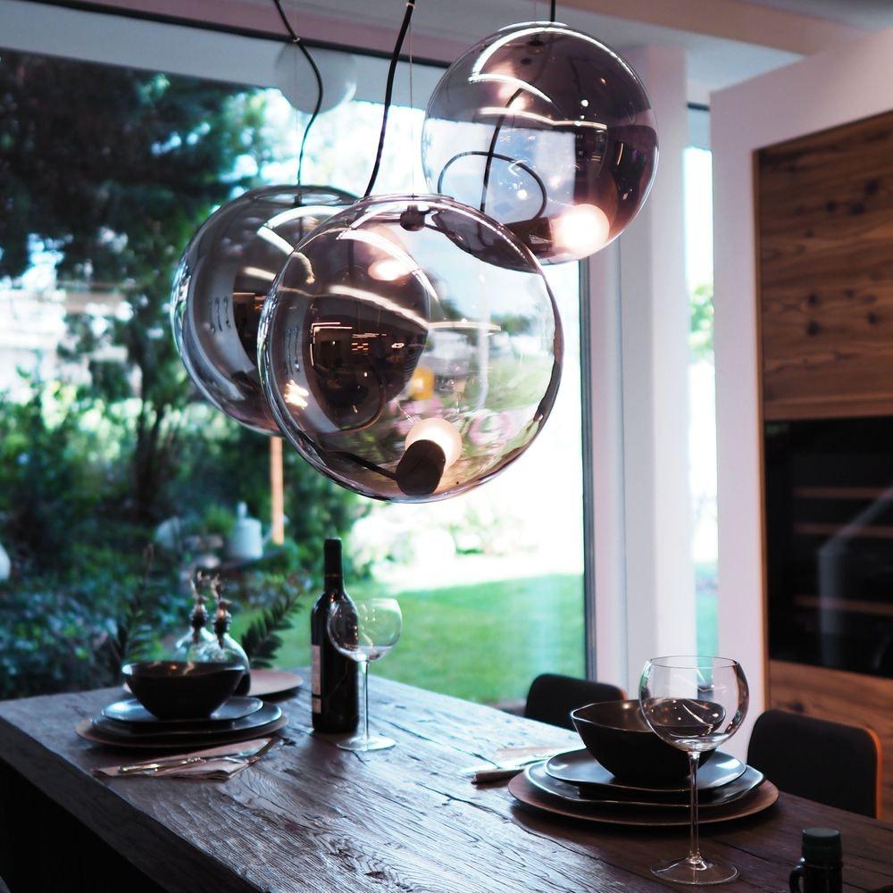 s.LUCE pro Sphere Pendelleuchte Glaskugel 23