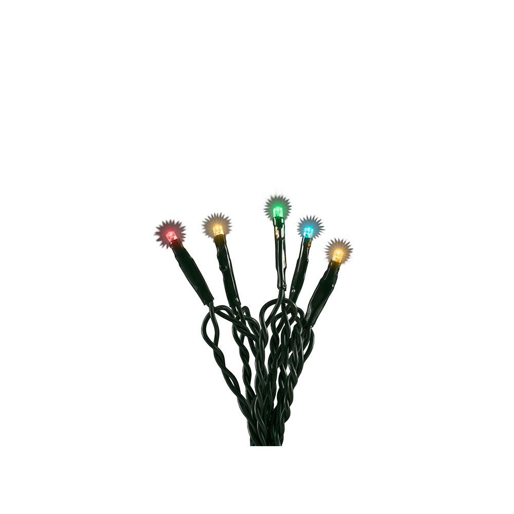 Micro LED Lichterkette verschweißt 50 bunte Dioden 7
