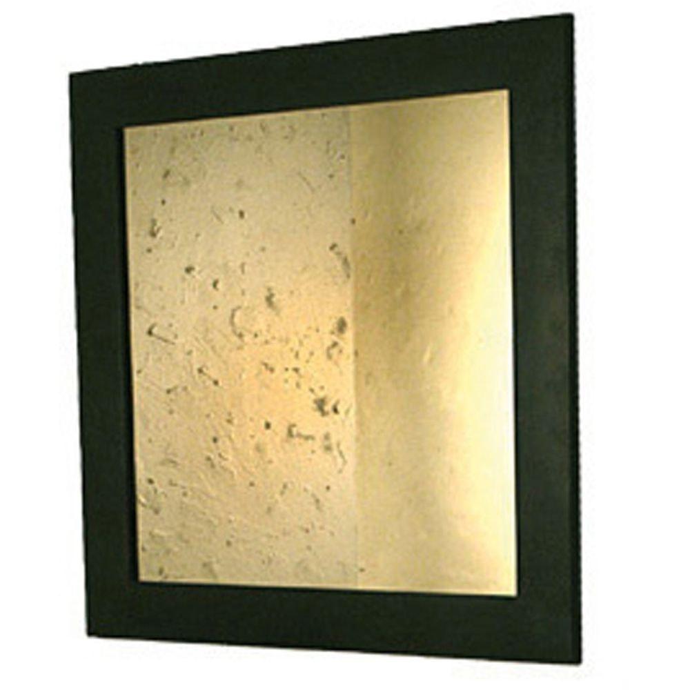 Spiegel Gamba Eisen-Spiegelglas Braun-Schwarz 2