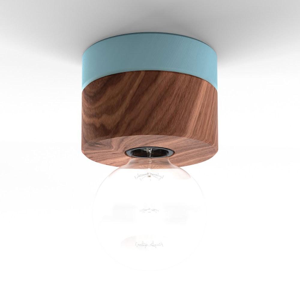 Holz Wand- & Deckenleuchte Ø 11cm in 3 Holzarten 10