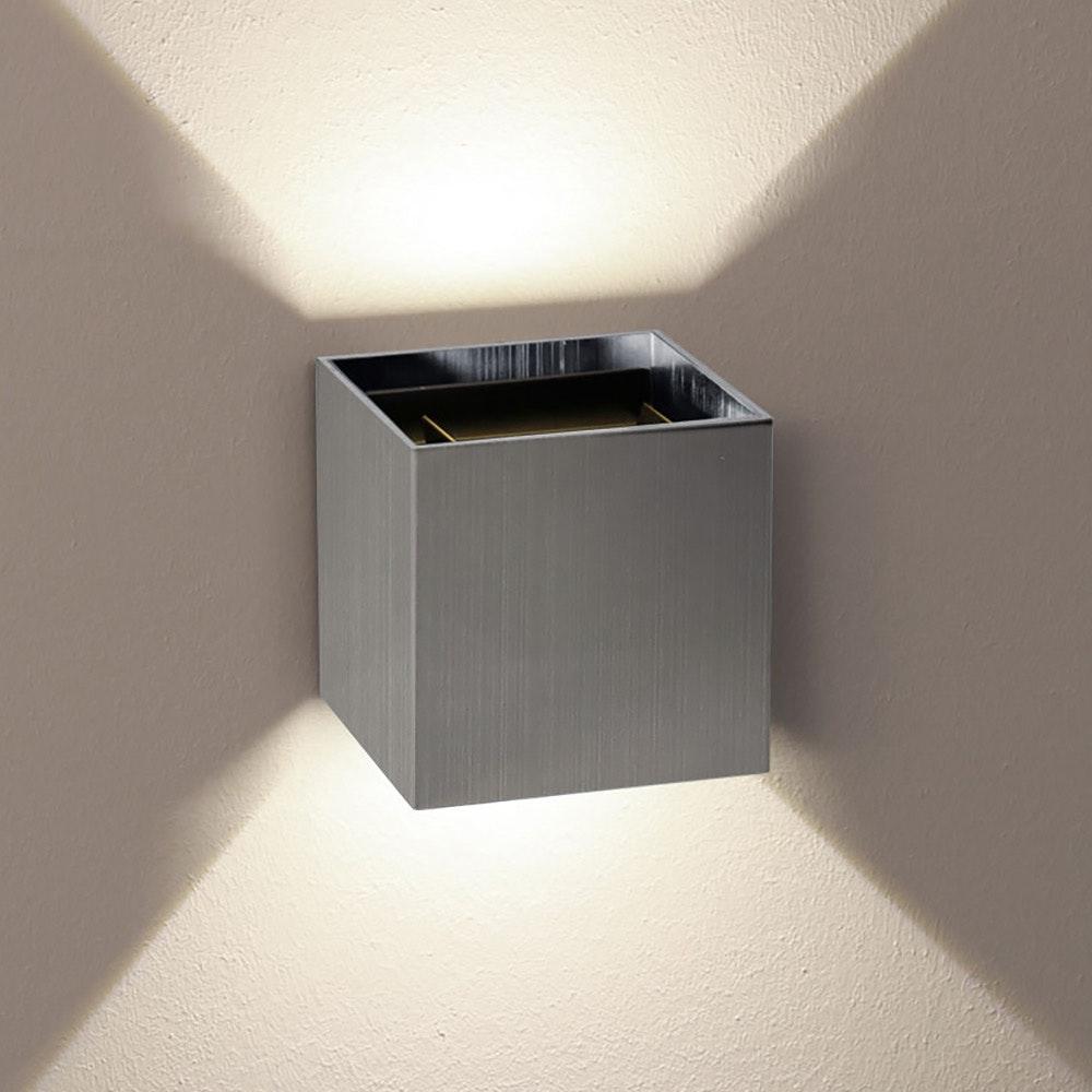 s.LUCE pro Ixa LED Innen- & Außen-Wandleuchte IP44 40