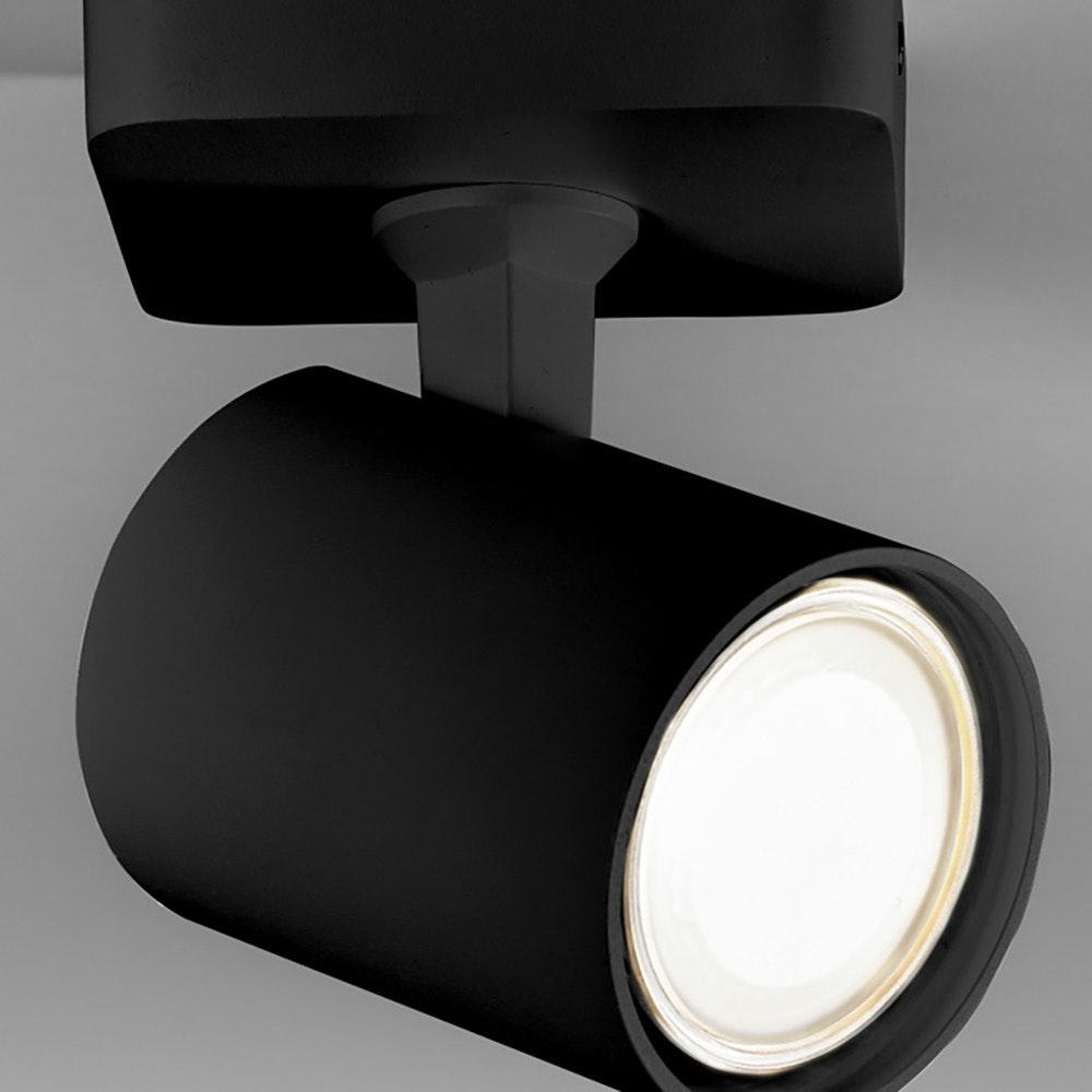 Licht-Trend Wand- und Deckenlampe Cup GU10 Schwarz 3