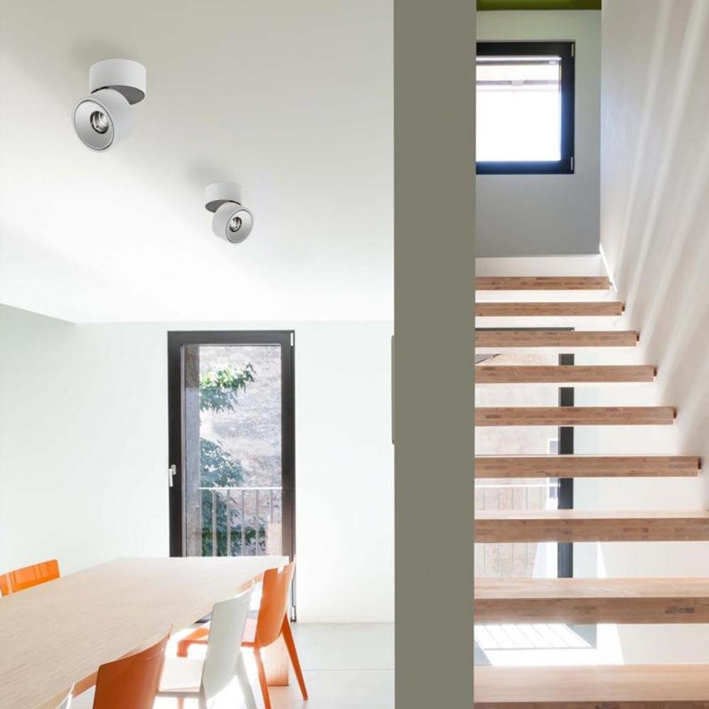 Licht-Trend LED Aufbauspot Simple 1320lm Weiß, Schwarz 2
