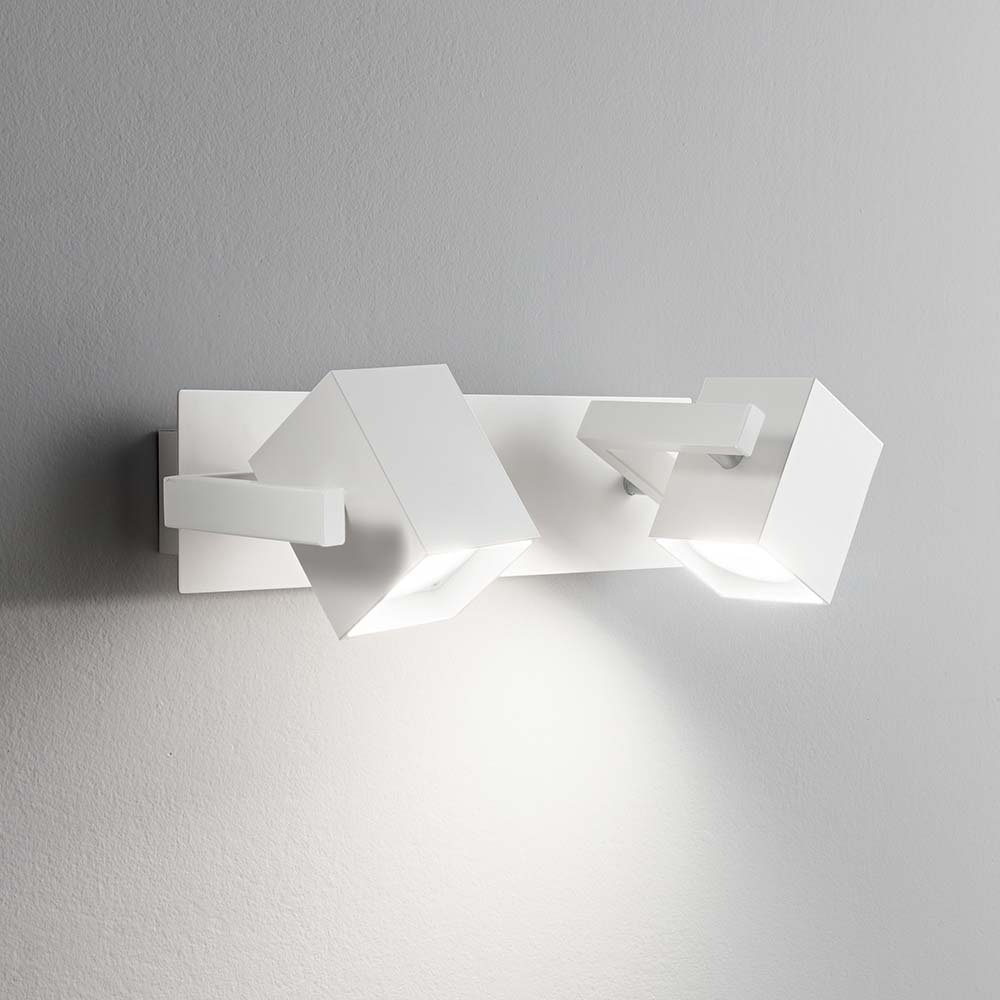 Ideal Lux Wandleuchte Mouse Ap2 Weiß 1