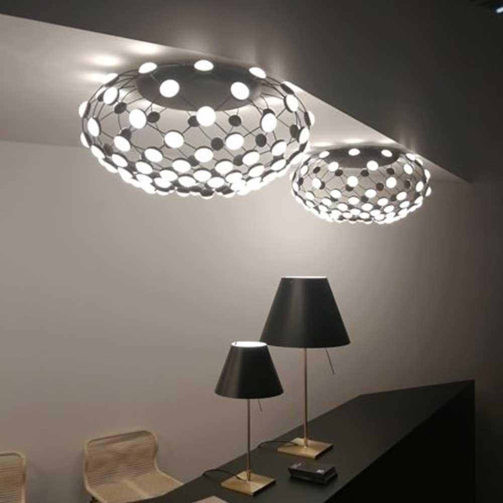 Luceplan LED Deckenlampe Mesh Ø 72cm 4