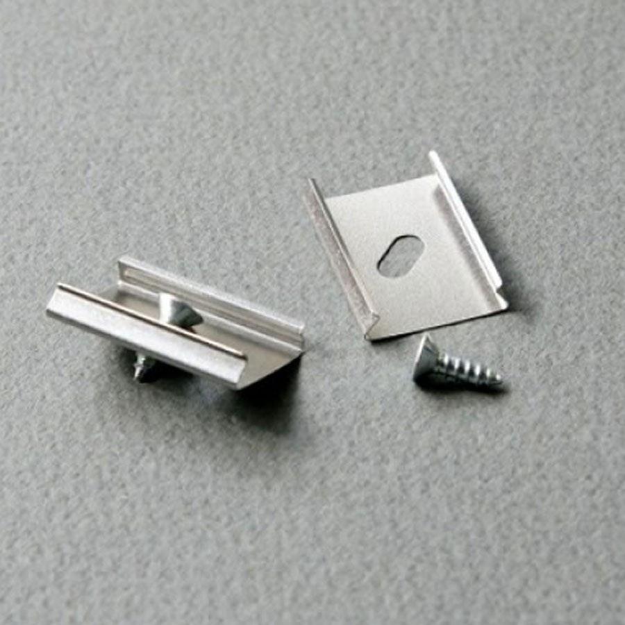 Montageklammern 4er-Set für Aluprofil Typ L