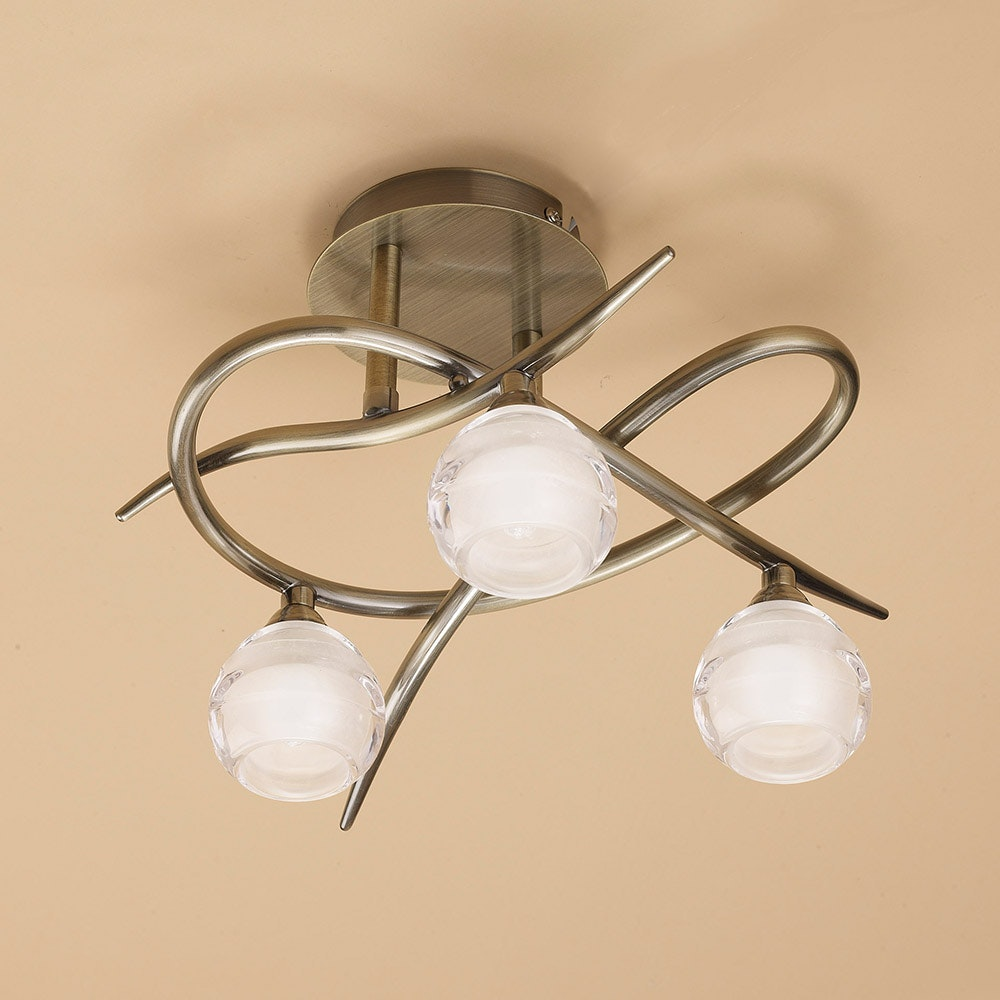 Mantra Loop 3-flammige Deckenlampe 2