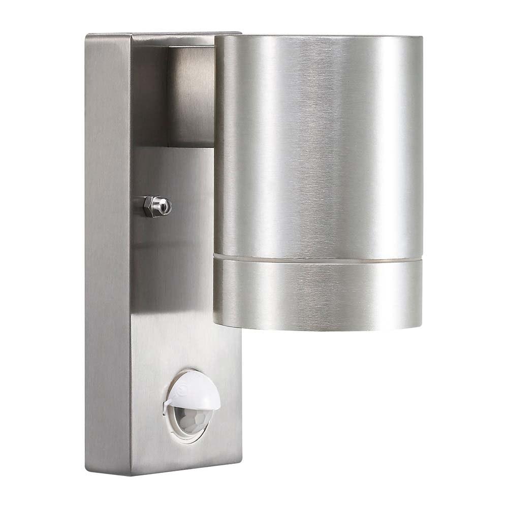 Nordlux Tin Maxi Sensor Aussenwandleuchte Up&Down 22cm Alu-Matt 1