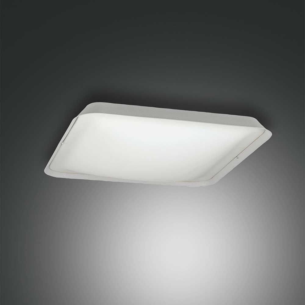 Fabas Luce moderne LED Deckenlampe Hugo aus Metall 3