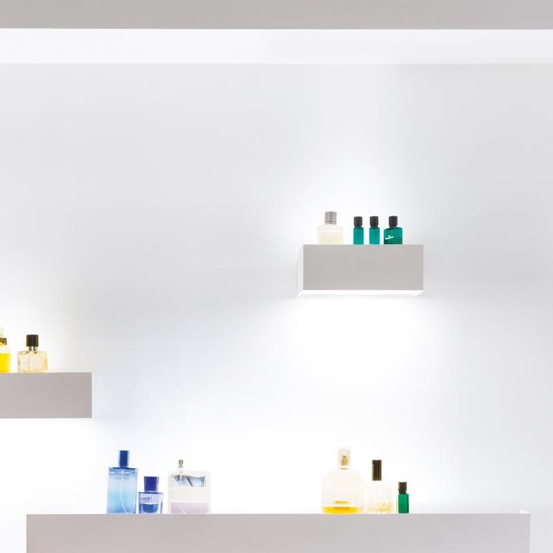 Nemo Viiva 100 LED Spiegelleuchte Regal thumbnail 3