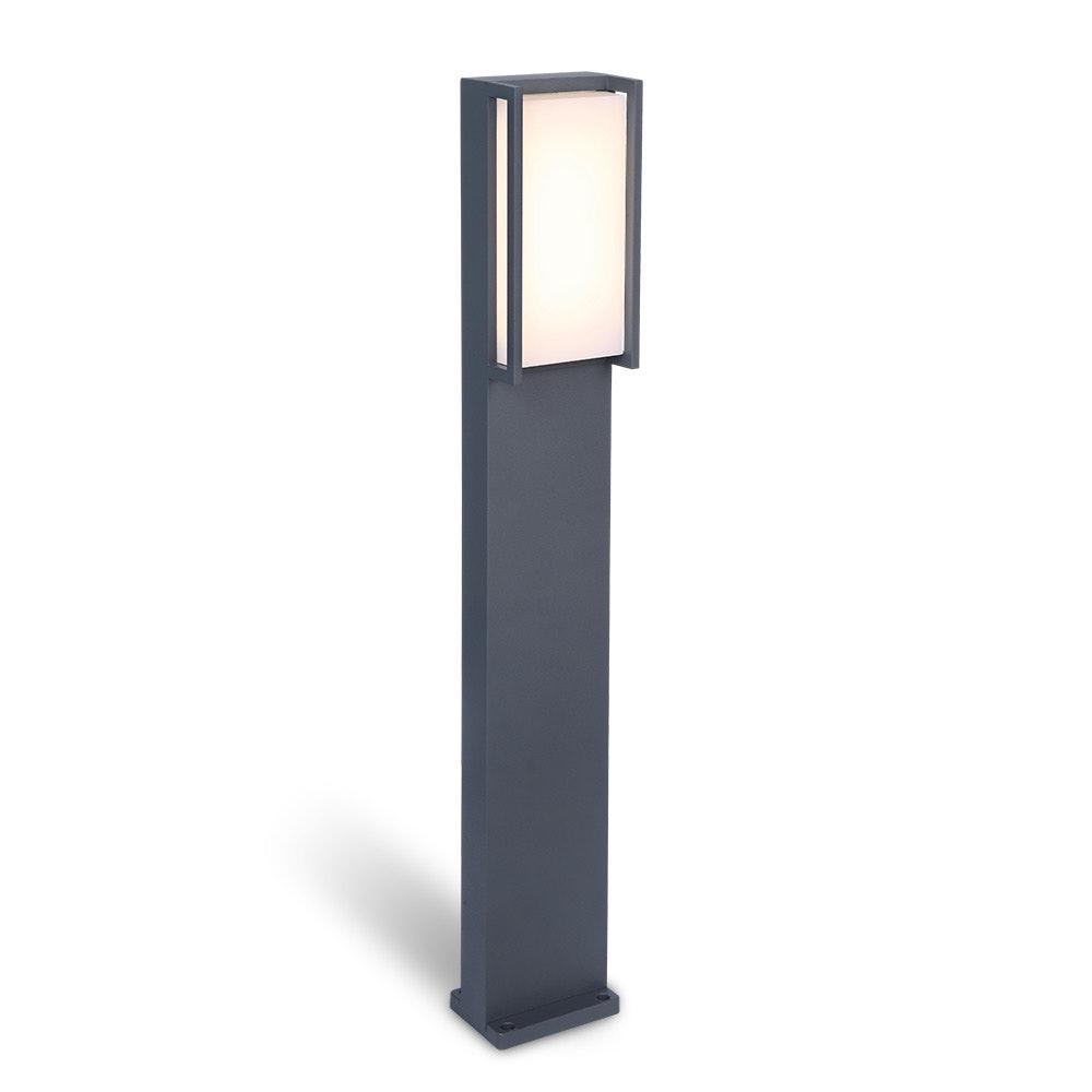 LED Wegeleuchte Qubo IP54 75cm Anthrazit 2