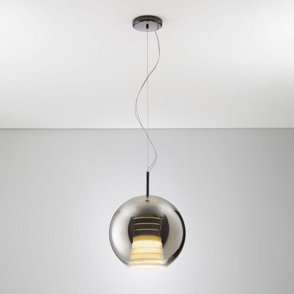 Fabbian Beluga Royal LED-Pendelleuchte Ø30cm 2