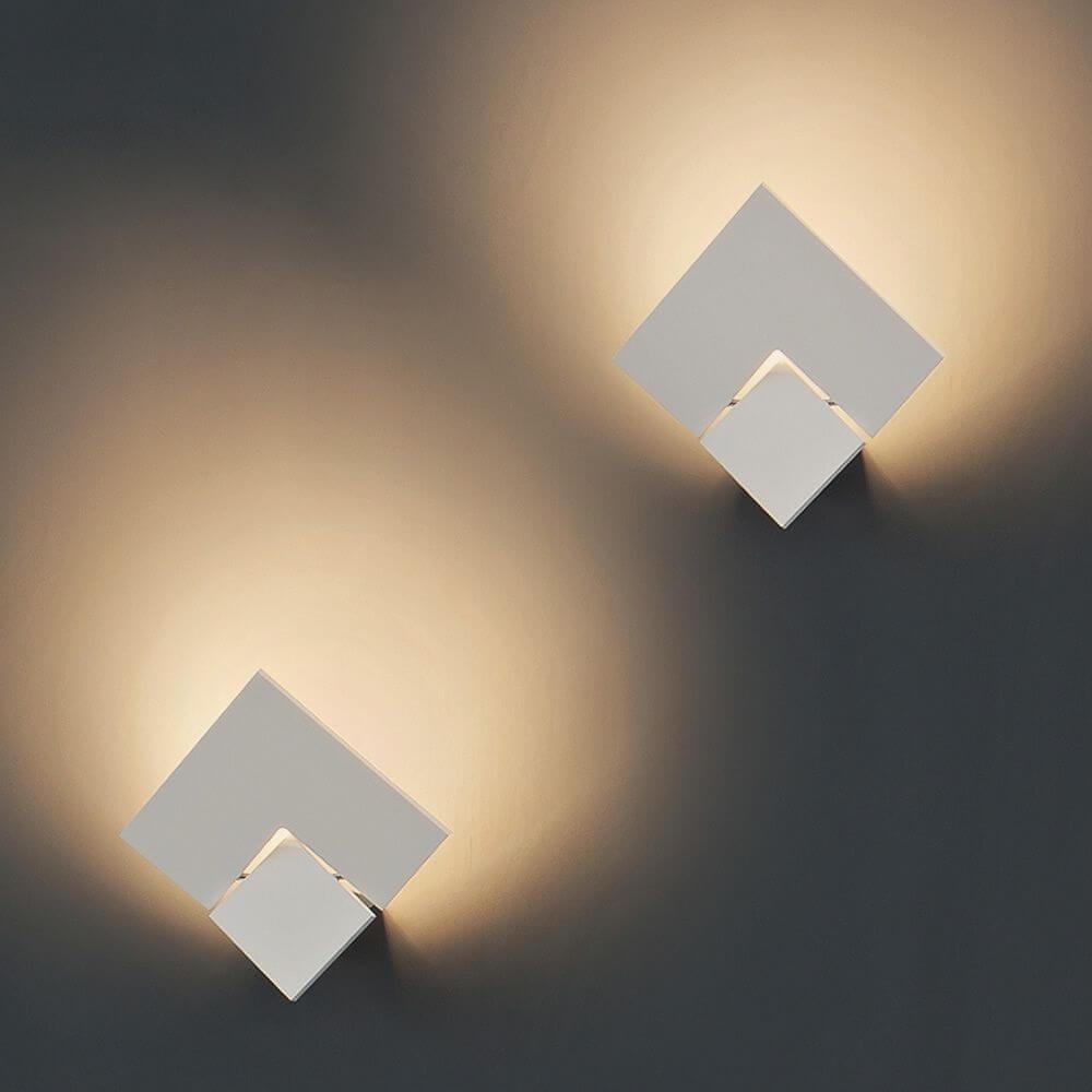 Studio Italia Design Puzzle Twist LED Wandlampe thumbnail 3