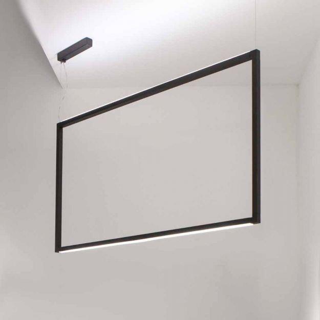 Nemo Spigolo Vertical LED Hängelampe 114x58cm  thumbnail 3