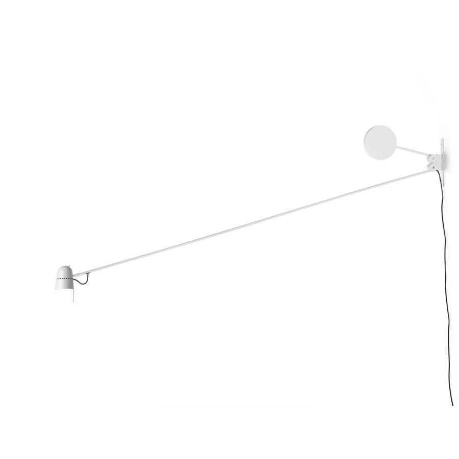 Luceplan LED Wandstrahler Counterbalance mit Gegengewicht 190cm 10