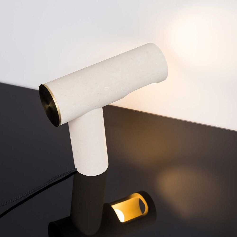 Pulpo LED Tischlampe Simple Light aus Kalkstein thumbnail 5