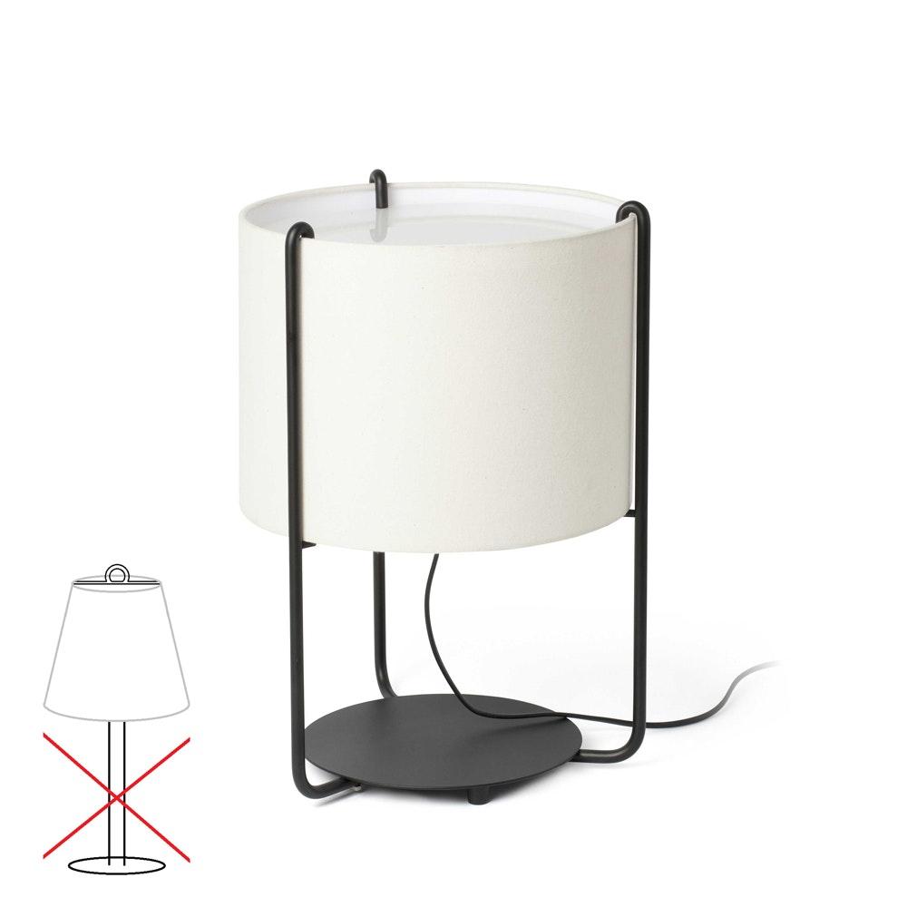 Lampenschirm für Tischleuchte Drum  1