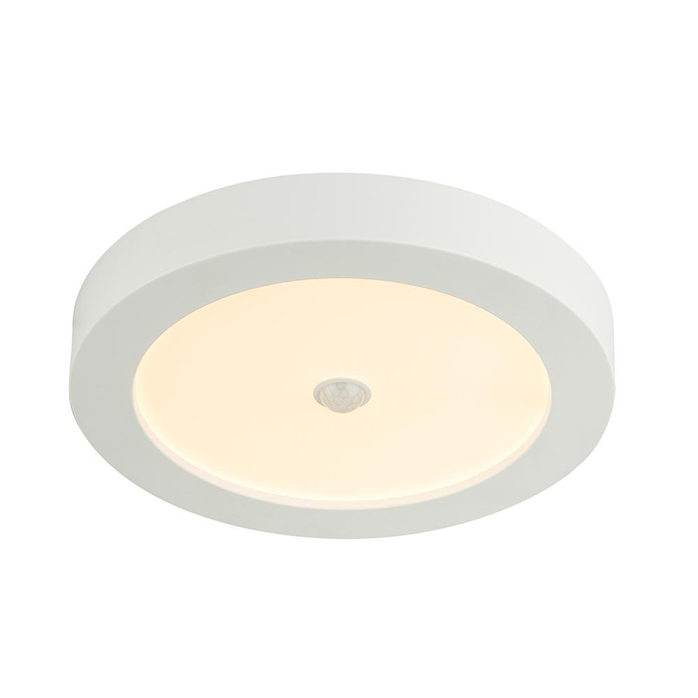 Licht-Trend LED Sensor Deckenleuchte Rafa Ø 22cm IP44 1600lm Weiß 2