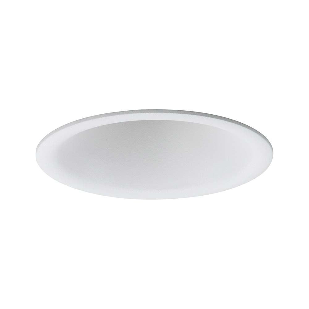 3er-Set LED Einbauleuchten Cymbal Coin starr Dimmbar IP44 2700K Weiß 3
