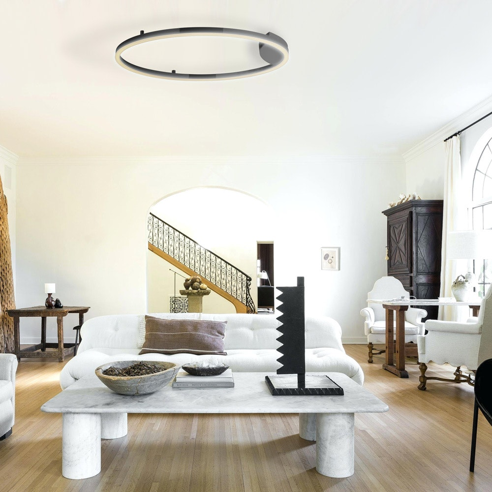 s.LUCE Ring 80 Wand & Deckenlampe LED Dimmbar 4