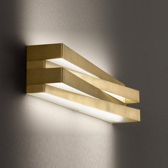 Panzeri Cross LED Wandlampe indirekt und direkt 2