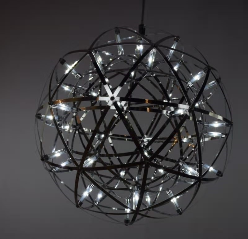 s.LUCE pro Atom 30 dimmbare LED-Hängeleuchte Metallkugel 4