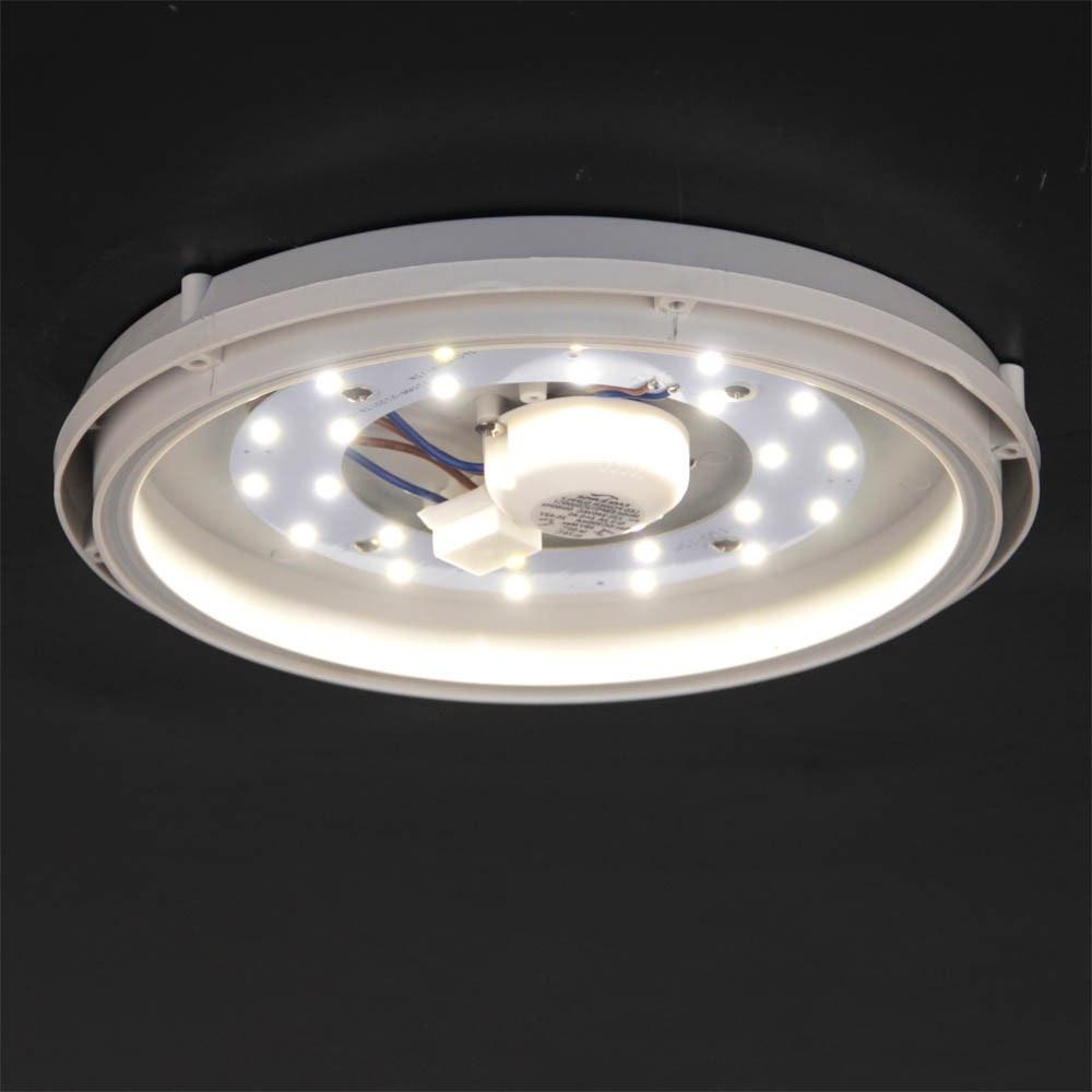 Acca LED-Deckenleuchte für Innen und Aussen Ø 27cm thumbnail 4