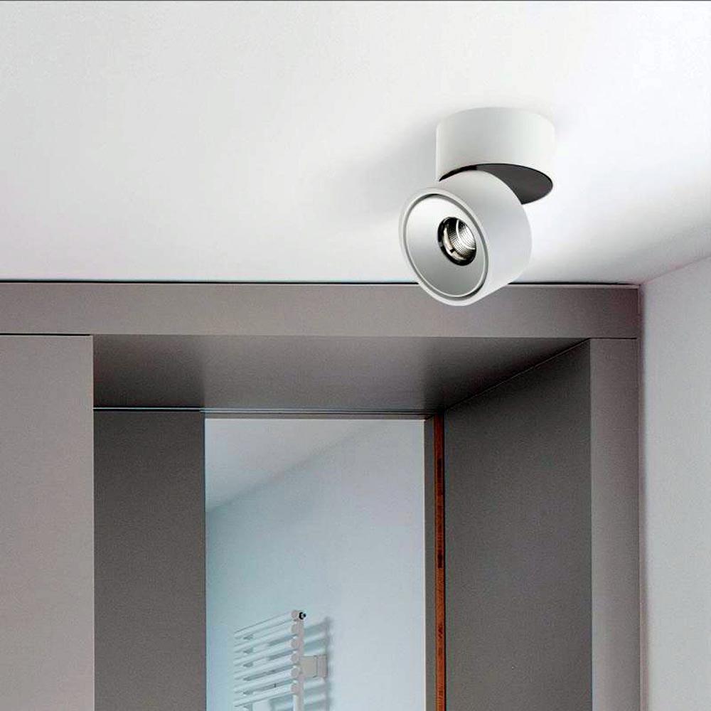Licht-Trend LED Aufbauspot Simple 890lm Weiß
