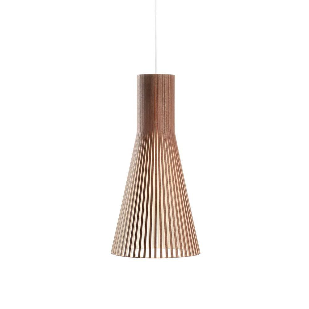 Pendelleuchte Secto Small 4201 aus Holz Ø 25cm 7
