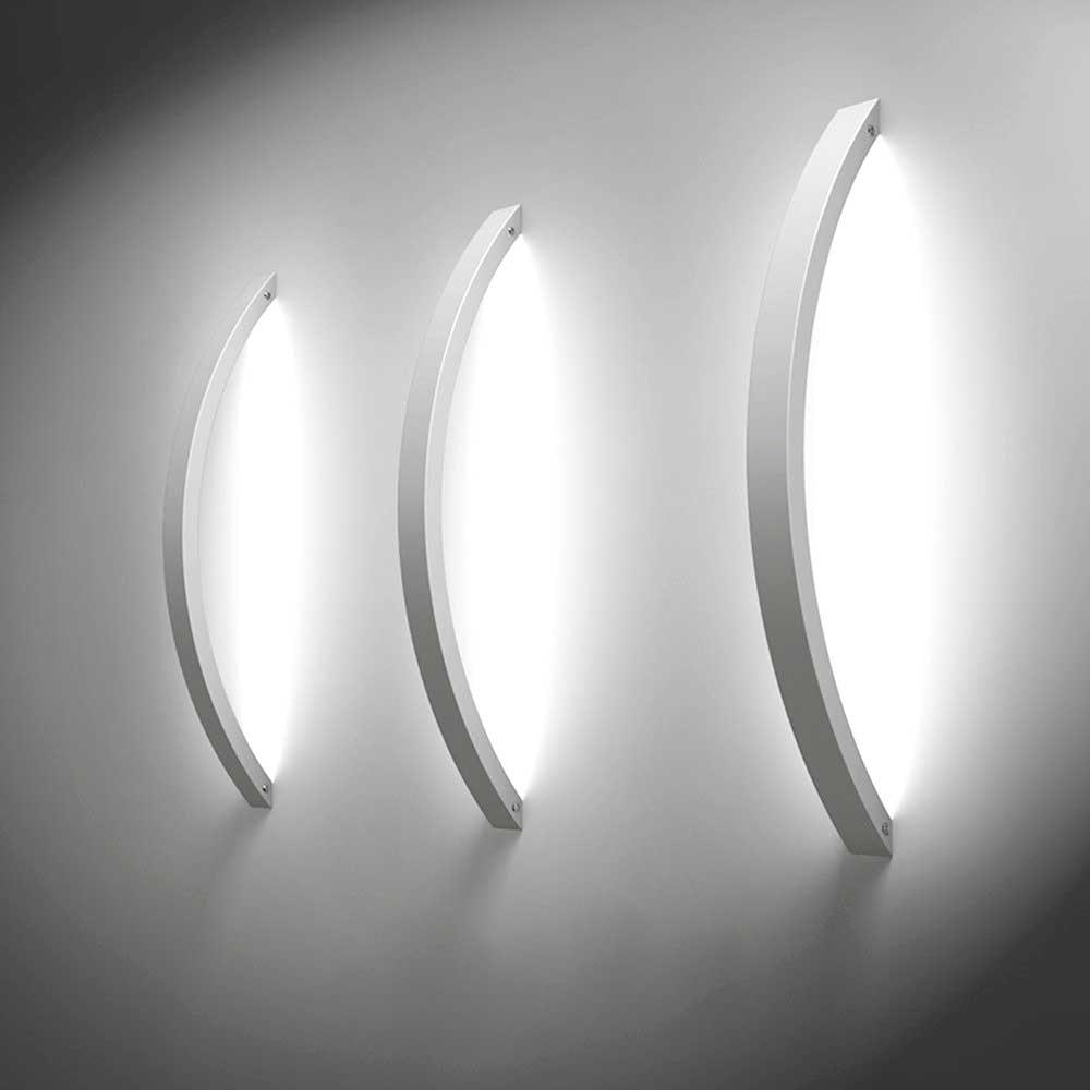 s.LUCE Ring M indirekte LED-Wandlampe 40cm 4