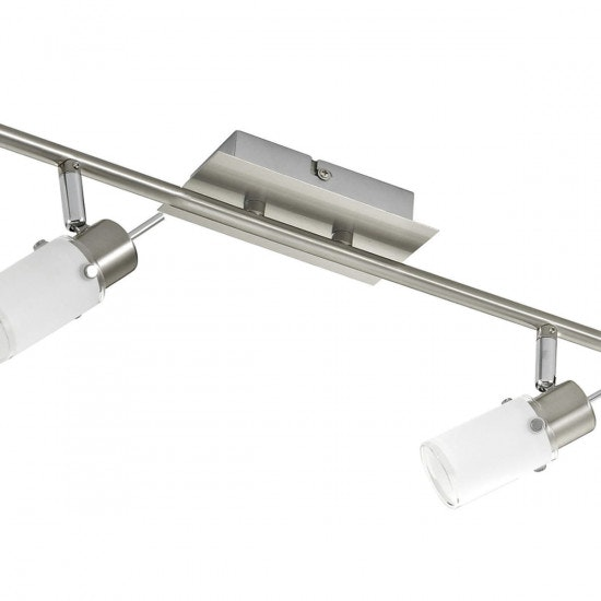 Max LED Deckenleuchte Stahl GU10 6