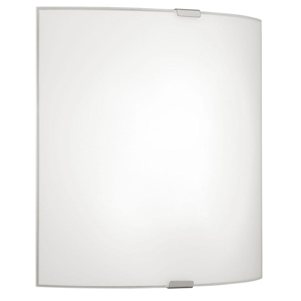 Moderne Grafik Wand- & Deckenleuchte Weiß, Chrom