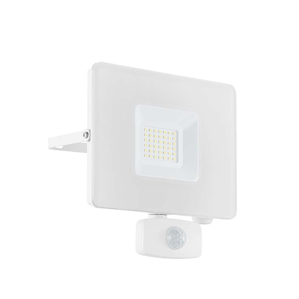 LED Wandstrahler Faedo3 30W mit Sensor Weiß