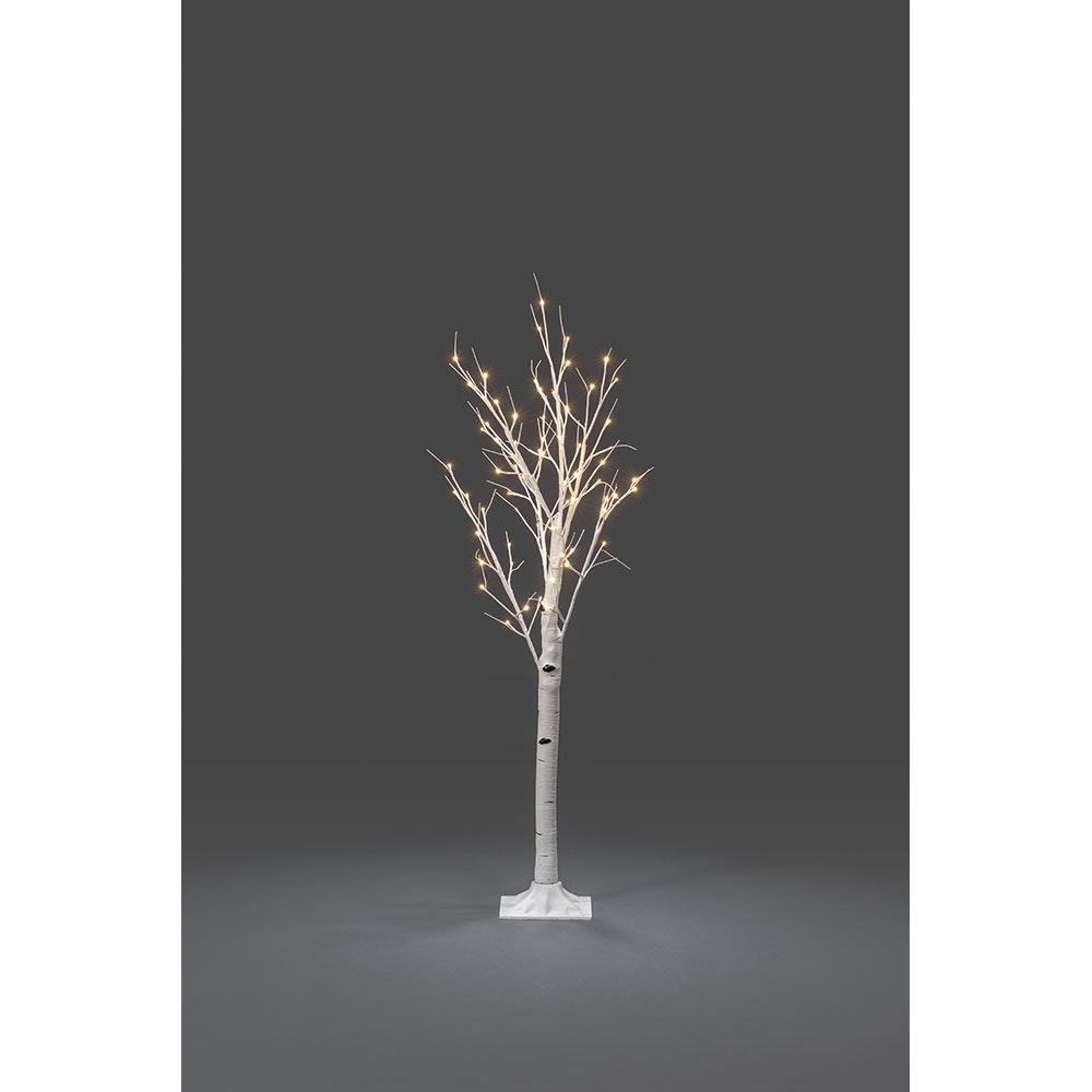 LED Birke mittel weiß 72 Warmweiße Dioden 2