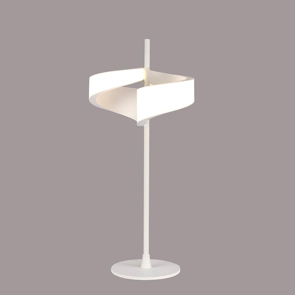 Mantra Tsunami Doppel-LED-Tischleuchte Weiß 1
