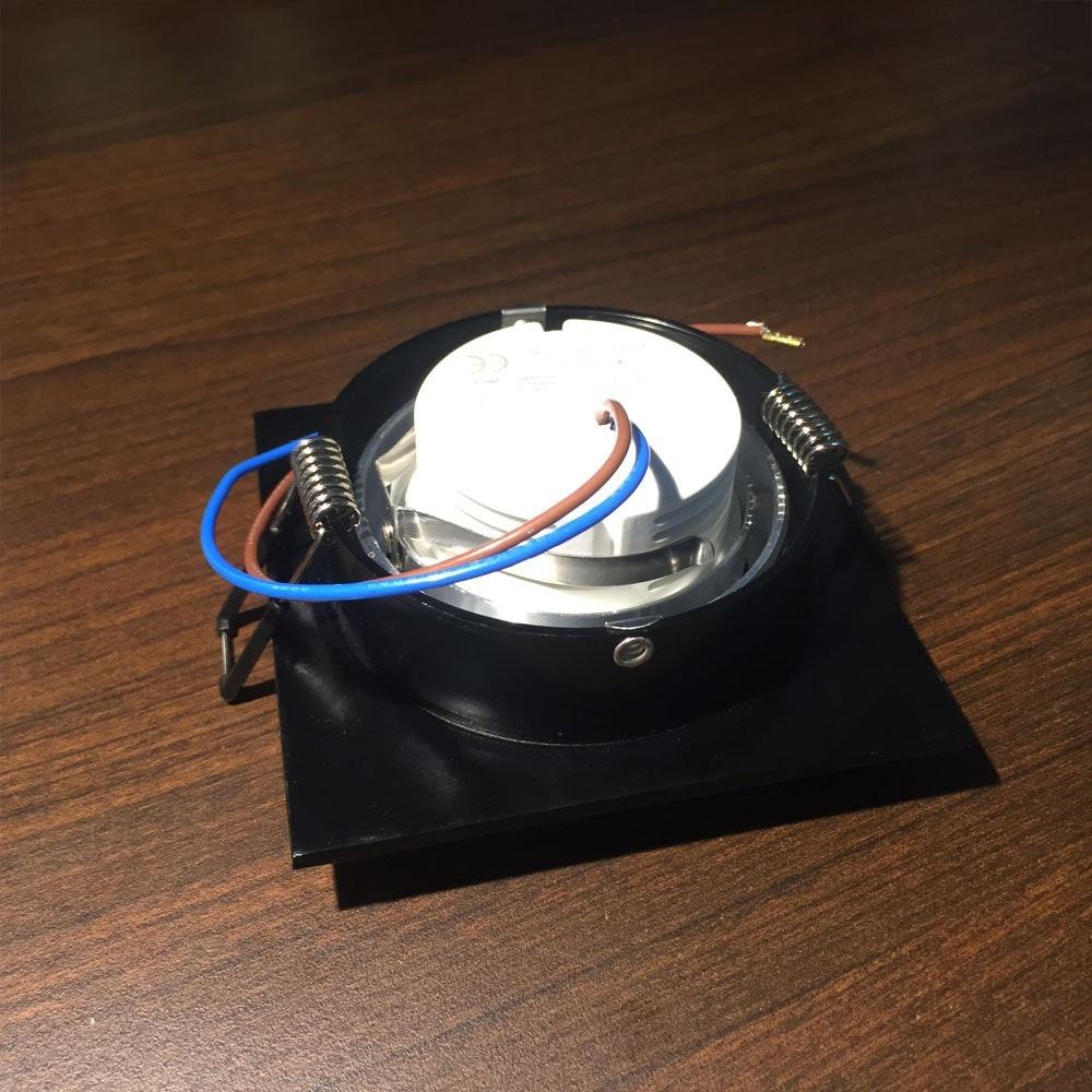 LED Coin Leuchtmittel für Einbauspots dimmbar 6W thumbnail 5