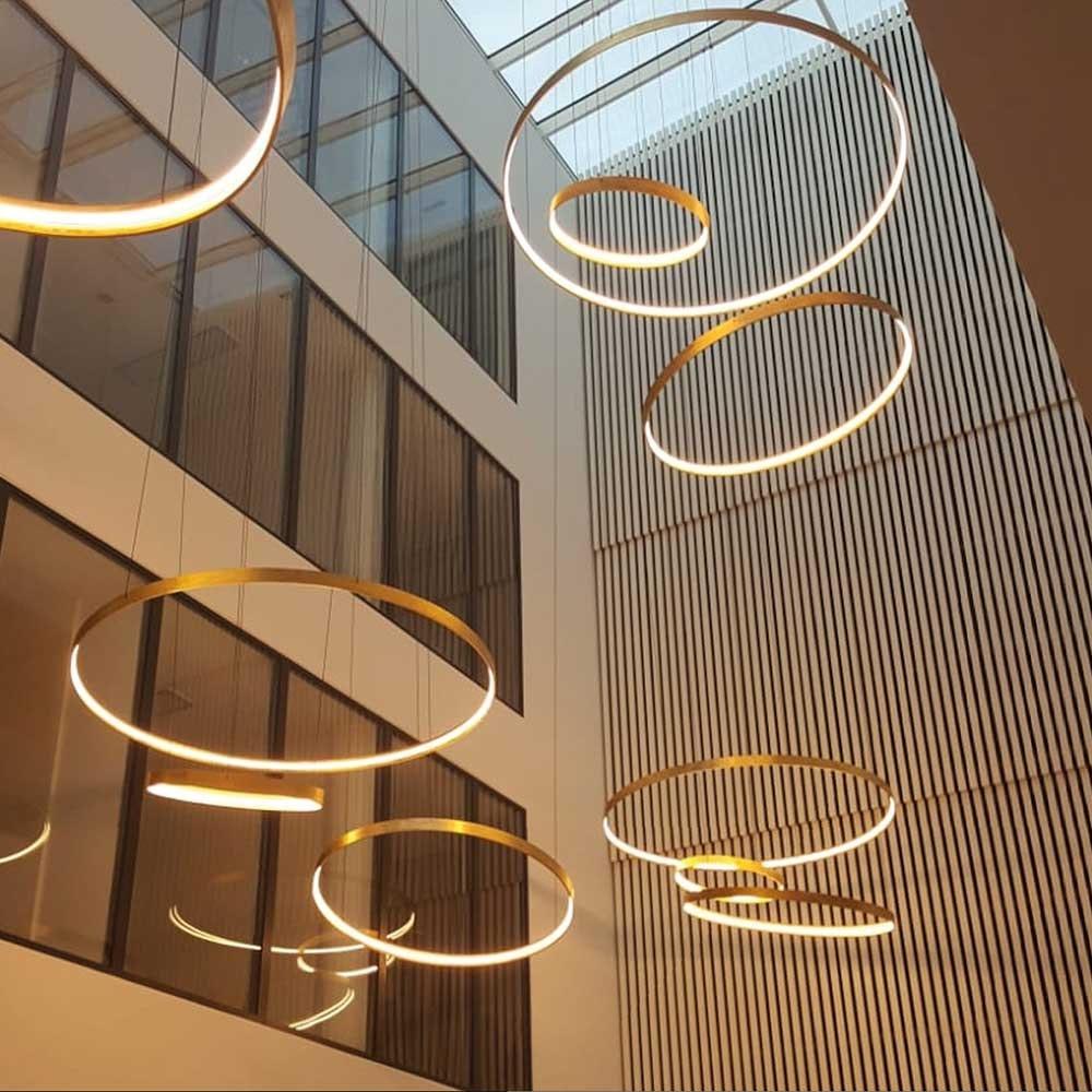 s.LUCE made LED Ring Ø 171-200cm individuell gefertigt