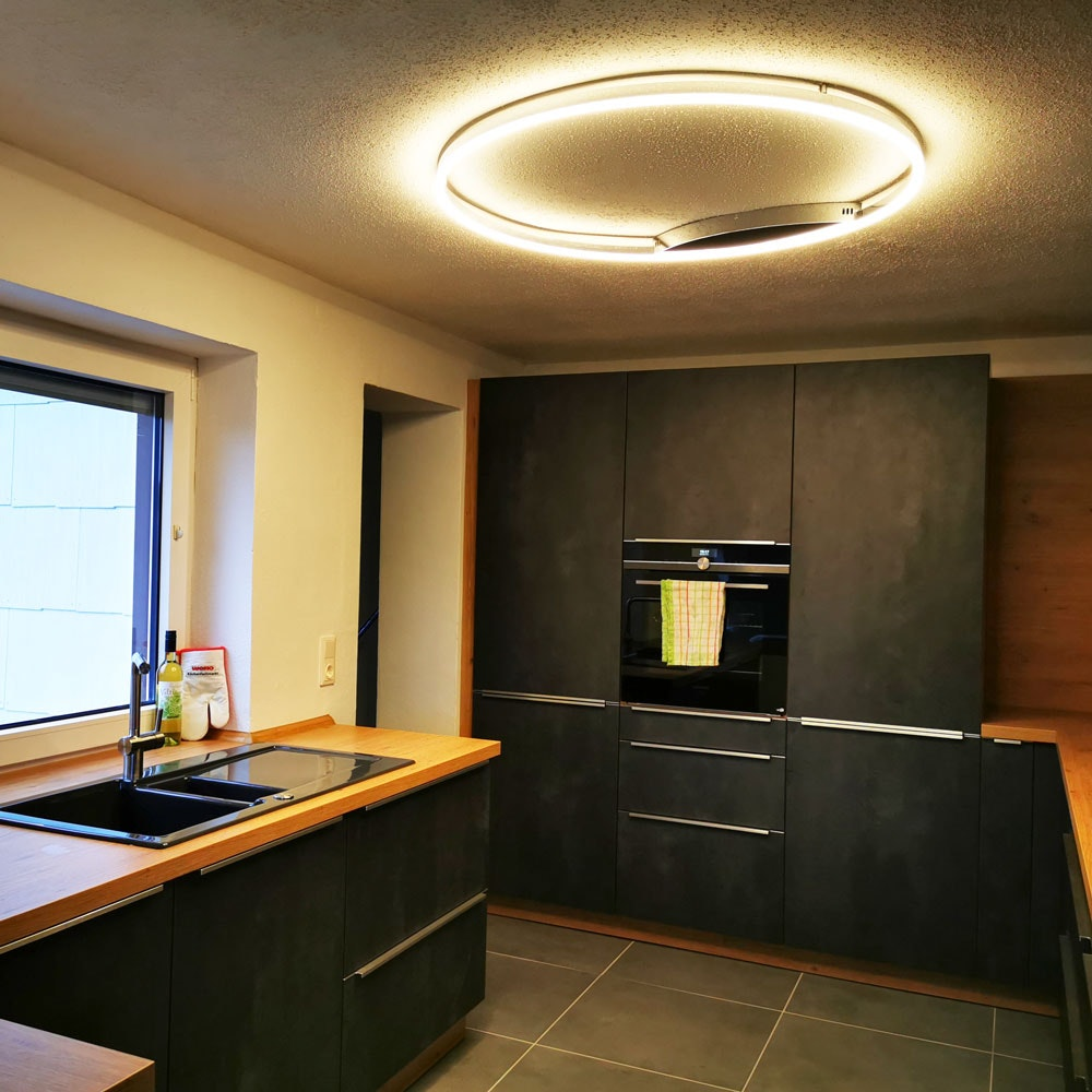 s.LUCE Ring 80 Wand & Deckenlampe LED Dimmbar 5