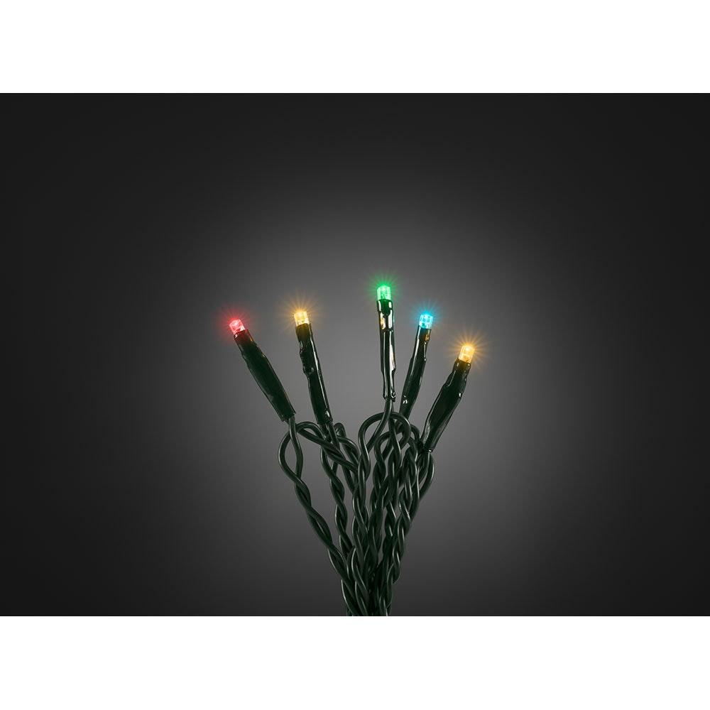 Micro LED Lichterkette verschweißt 50 bunte Dioden 6